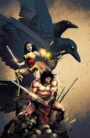Wonder Woman/Conan: Simone, Gail, Lopresti, Aaron: 9781401280215 ...