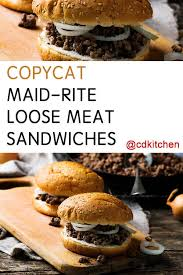 maid rite loose meat sandwiches recipe