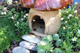 inspiration for a cottage fairy garden