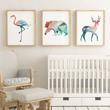 Nordic Creative Deer Bird Bear Poster Wall Art Picture Family Living Room Decoration Kids Room Decor Posters Canvas Painting 520 Painting Calligraphy Aliexpress