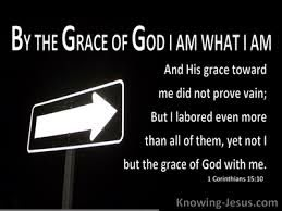16 Bible verses about God, Grace Of