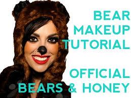 y bear halloween makeup tutorial