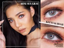 GRADED] Mini Ava Gray Contact Lenses