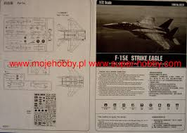 Hobbyboss 1 72 F 15e Strike Eagle Aircraft Model Kit