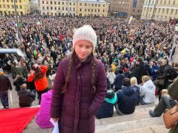 """트위터의 Svante Thunberg 님: """"Helsinki rises for the climate crisis. #NytOnPakko  #climate… """""""