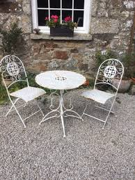 french rustic style garden table and