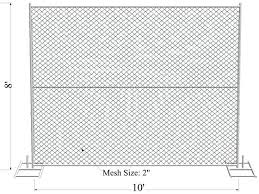 6ft X 10ft Construction Temporary Chain Link Fence Panels Id 10680327 Product Details View 6ft X 10ft Construction Temporary Chain Link Fence Panels From Anping Xinhai Wire Mesh Company Ec21