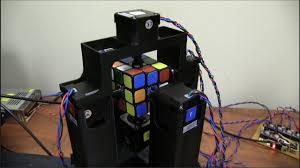 fastest rubik s cube solving robot