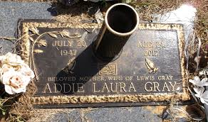 Addie Laura Glaze Gray (1947-2012) - Find A Grave Memorial