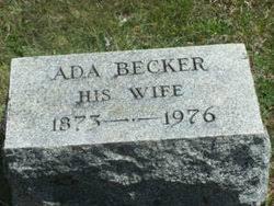 Ada Becker Blessing (1873-1976) - Find A Grave Memorial