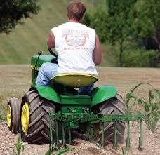 collectible garden tractor implements