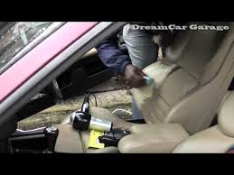 how to repair a leather car seat rip
