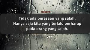 kata kata mencintai orang yang salah akhiri dan terima