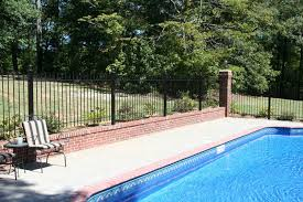 Using Wrought Iron Or Aluminum Fence Around A Swimming Pool Iron Fence Shop Blog
