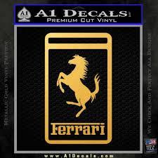 Ferrari Emblem Logo D3 Decal Sticker A1 Decals