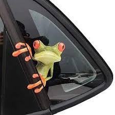 Okdeals 3d Cute Peep Frog Funny Car Stickers
