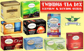 twinings tea box of 2020 flavours