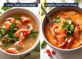 Tom Yum Soup (Thai soup)