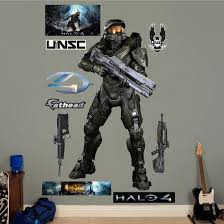 Battle Ready Master Chief Halo 4 Wall Decal Sticker Wall Decal Allposters Com