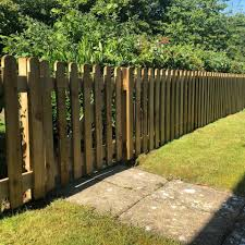 Cc Landscaping Lovely 3ft High Round Top Picket Fence Facebook