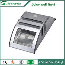 install for all in one solar wall light