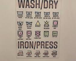 Laundry Magnet Etsy