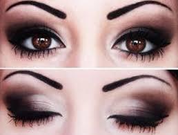 prom makeup brown eyes cat eye makeup