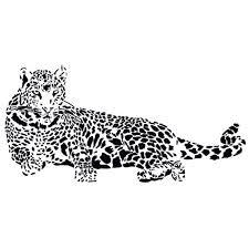 Amazon Com Huge Cheetah Leopard Jaguar Cat Wall Mural Vinyl Decal Baby