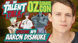 Ani-Game Talent Talk | Aaron Dismuke Interview | OzComic-Con ...