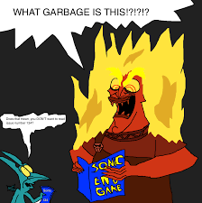 hades reads sonic endgame by scurvypiratehog on