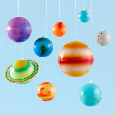 Glow In The Dark Hanging Solar System Reviews Crate And Barrel