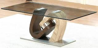 tree stump tables with glass tops
