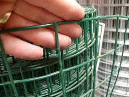 Thick Pvc Coated Weld Wire Mesh Fencing 0 9x25m 50mm 2 Mesh
