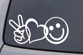 Car Sticker Love Heart Crucifix Window Wall Glass Truck Auto Laptop Cycle Decal For Sale Online Ebay