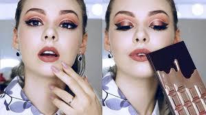 chocolate rose gold i heart makeup