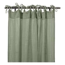 cotton curtain 100x290 cm sage green