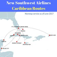 new southwest caribbean routes