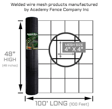 4 X4 11 Gauge Vinyl Coated Welded Wire Roll 4 Ft X 100 Ft Welded Wire Fence