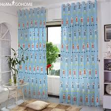 2020 Anime Tulle Curtains For Living Room Sheer Curtains For Kitchen Children Line Up Exercises Modern Voile Kids Bedroom From Shuishu 23 55 Dhgate Com