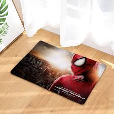 Spider Man Ultra Soft Indoor Modern Area Rugs Fluffy Living Room Carpets Suitable For Children Bedroom Giftcartoon