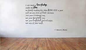 Amazon Com Blinggo I Can Make A Firm Barack Obama Removable Vinyl Wall Decal Home Dicor Home Kitchen
