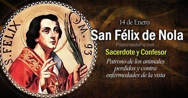 """Resultado de imagen para San Félix de Nola Santo"""""""
