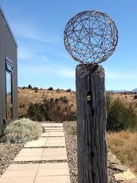 garden art sculptures made from