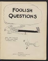Rube Goldberg's Foolish Questions THE SHELF