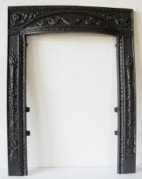 cast iron coal fireplace fire door