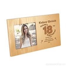 s personalised 18th birthday wooden
