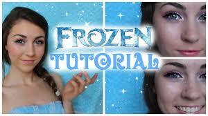 frozen princess anna makeup tutorial