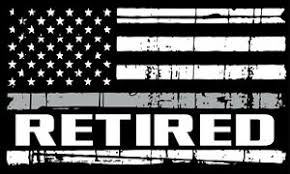 Corrections Officer Retired Distressed Flag Exterior Window Decal Reflective Ebay