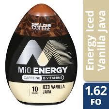 mio energy iced vanilla java liquid