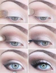 natural smokey eye wedding makeup